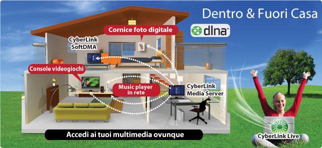 Cyberlink soluzioni per la casa digitale for Soluzioni per la casa