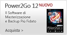 NUOVO Power2Go 12 Platinum