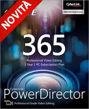 PowerDirector 365 - Montaggio Video Professionale.